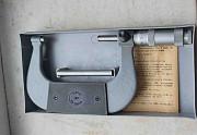 Микрометр гладкий МК-100 (75-100 мм), 0, 01 мм, СССР (з-д Калиброн) Макеевка ДНР