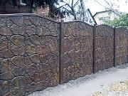 Еврозабор - забор из железобетона Луганск ЛНР
