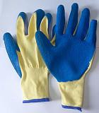 Перчатки, стекольщика, хб, с рельефным латексным натуральным покрытием, 13 класс Донецк ДНР